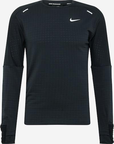 NIKE Sporta krekls 'Sphere' melns / balts, Preces skats