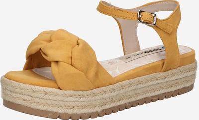 Sandale cu baretă 'AMELIE' MTNG pe galben, Vizualizare produs