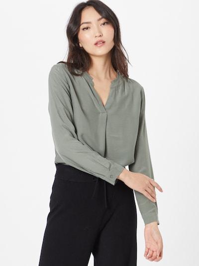 TOM TAILOR Bluse in grün, Modelansicht