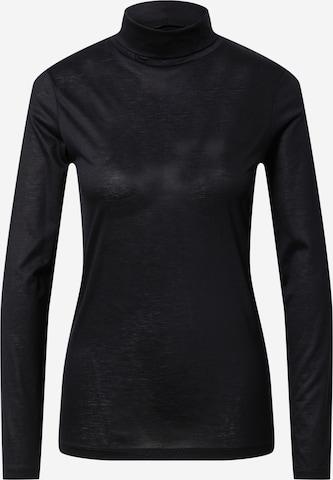 juoda DRYKORN Marškinėliai 'LARNI'