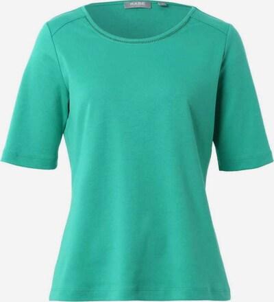 Rabe Rundhals T-Shirt in grün, Produktansicht