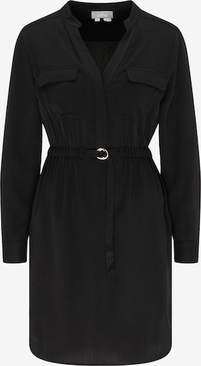 Usha Robe-chemise en noir, Vue avec produit