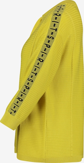 Betty Barclay Pullover in gelb / schwarz, Produktansicht