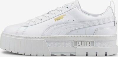 PUMA Sneaker 'Mayze' in gold / weiß, Produktansicht