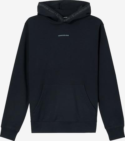 Calvin Klein Jeans Organic Cotton Logo Trim Hoodie ' ' in schwarz, Produktansicht
