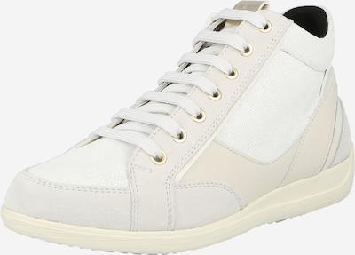 krém / világosszürke / fehér GEOX Magas szárú edzőcipők 'MYRIA', Termék nézet