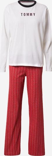 Tommy Hilfiger Underwear Pižama 'HOLIDAY' | rdeča / črna / bela barva, Prikaz izdelka