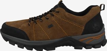 Chaussure de sport à lacets ' B6819 ' RIEKER en marron