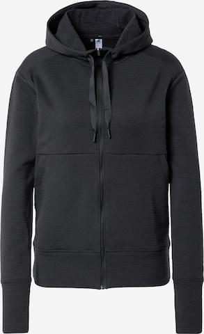 adidas Golf Sportlik trikoojakk, värv must