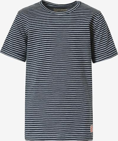 Tricou BASEFIELD pe marine / alb, Vizualizare produs