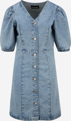 Pieces Tall Kleid 'GILI' in Blau