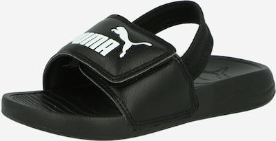PUMA Plážové / kúpacie topánky - čierna / biela, Produkt