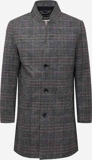 TOM TAILOR DENIM Prechodný kabát - tmavosivá / čierna / biela, Produkt