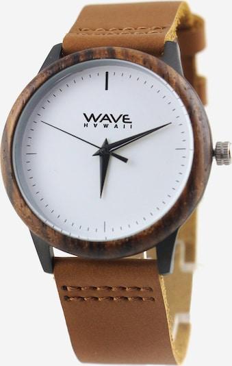Wave Hawaii Montre à affichage analogique ' Zebrano ' en marron, Vue avec produit