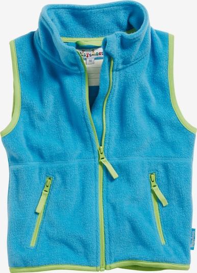 Gilet PLAYSHOES di colore blu neon / verde chiaro, Visualizzazione prodotti