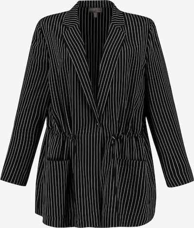Ulla Popken Blazer in schwarz / weiß, Produktansicht