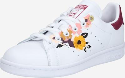 ADIDAS ORIGINALS Sneaker 'Stan Smith' in mischfarben / weinrot / weiß, Produktansicht