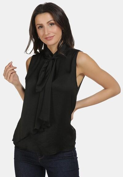 usha WHITE LABEL Blouse in de kleur Zwart, Modelweergave