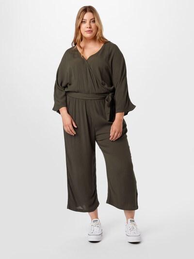 ABOUT YOU Curvy Jumpsuit 'Jasmin' in khaki, Modelansicht