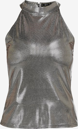 faina Top in de kleur Zilver, Productweergave
