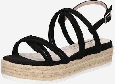 MTNG Sandales à lanières 'AMELIE' en noir, Vue avec produit
