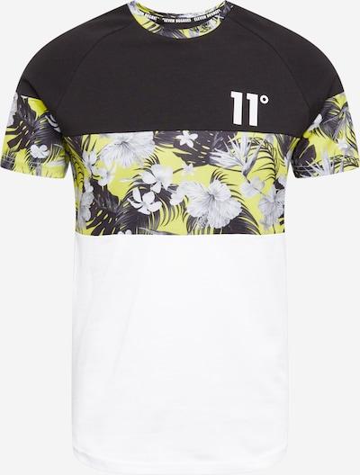 11 Degrees Camiseta en amarillo / negro / blanco, Vista del producto