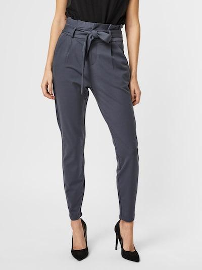 Pantaloni con pieghe 'Eva' VERO MODA di colore blu notte, Visualizzazione modelli