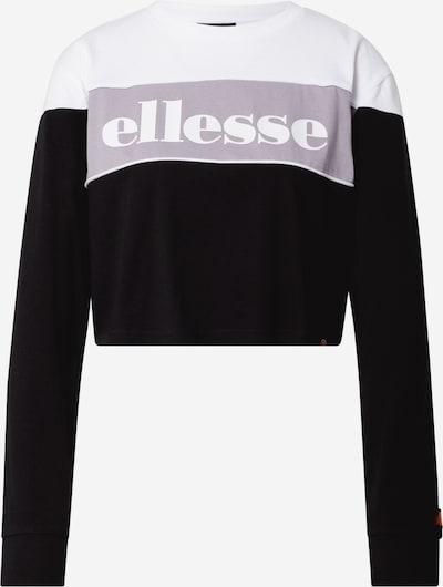ELLESSE Shirt 'Reptans' in lila / schwarz / weiß, Produktansicht