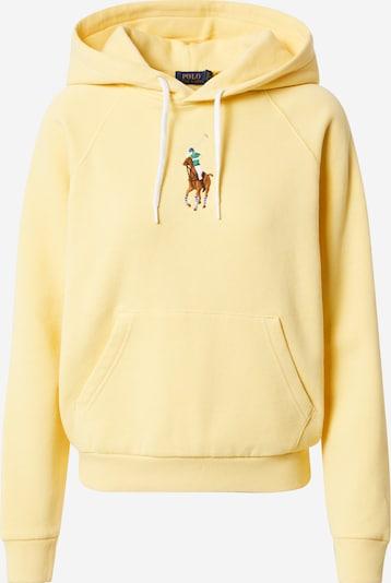 POLO RALPH LAUREN Sweat-shirt en jaune, Vue avec produit