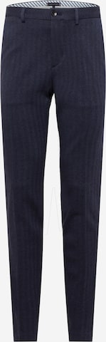 Pantalon à plis Tommy Hilfiger Tailored en bleu