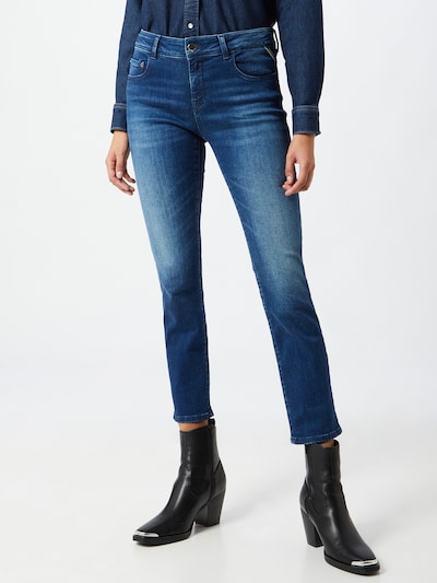 REPLAY Jeans 'Faaby' in blau, Modelansicht