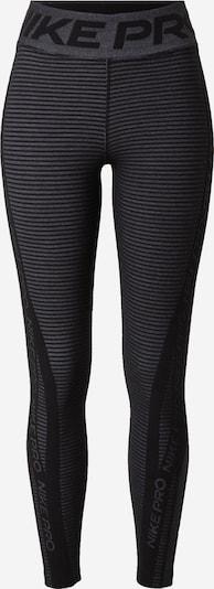 NIKE Sporthose 'Pro HyperWarm' in schwarz / schwarzmeliert, Produktansicht
