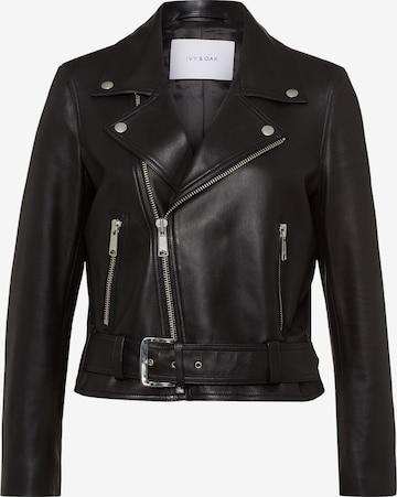 IVY & OAK Overgangsjakke i svart