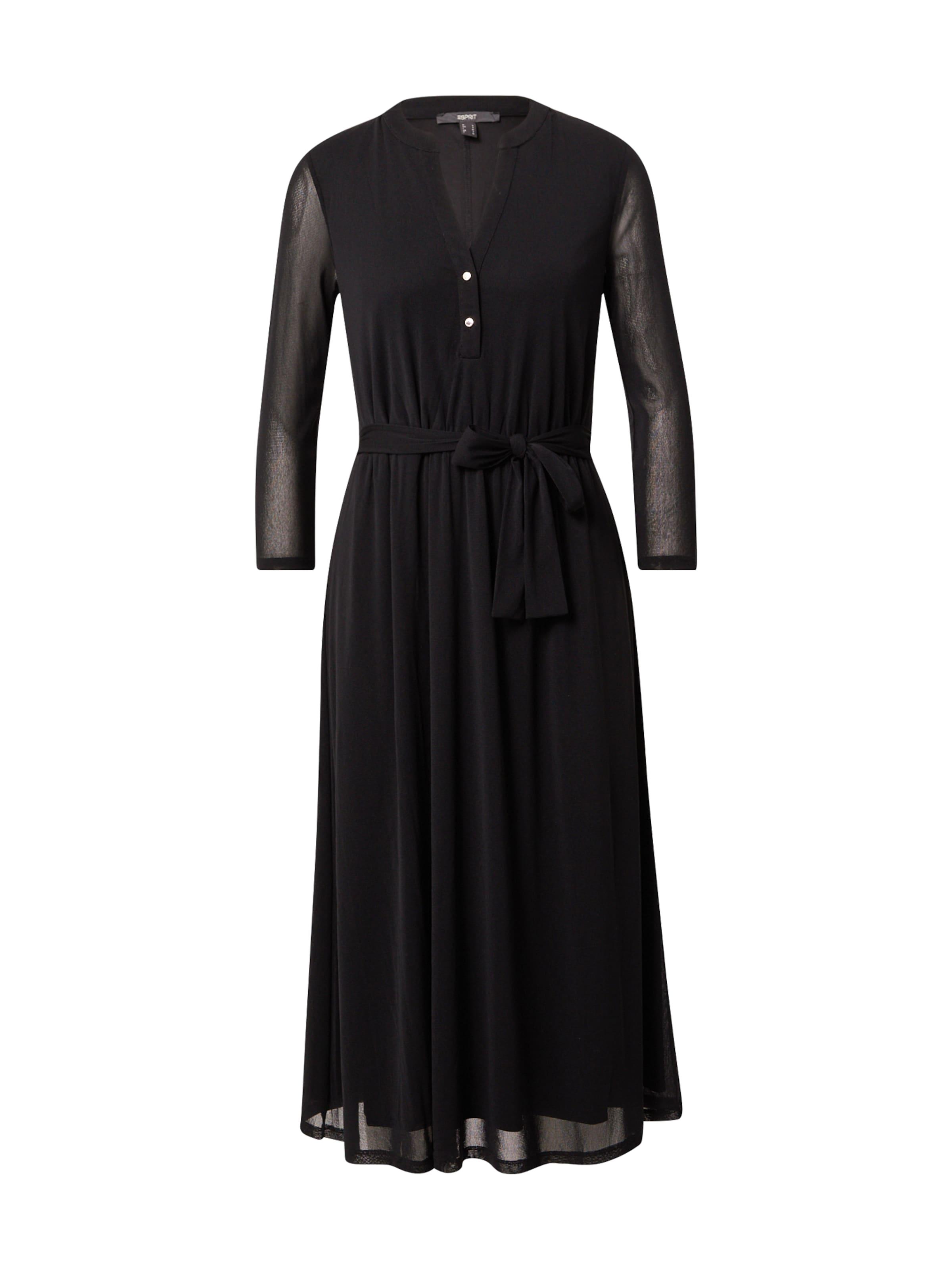 Esprit Collection Skjortklänning i svart