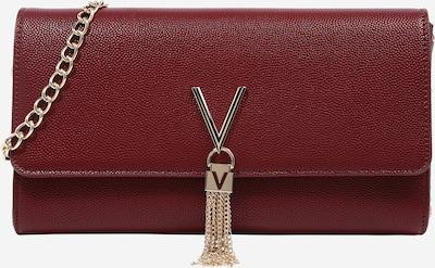 Clutch 'DIVINA' Valentino Bags pe auriu / roșu vin, Vizualizare produs