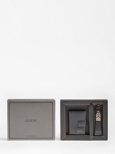GUESS Schlüsselanhänger in schwarz, Produktansicht