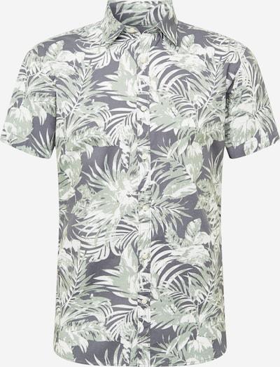 Camicia 'CHRIS' JACK & JONES di colore grigio / menta / bianco, Visualizzazione prodotti