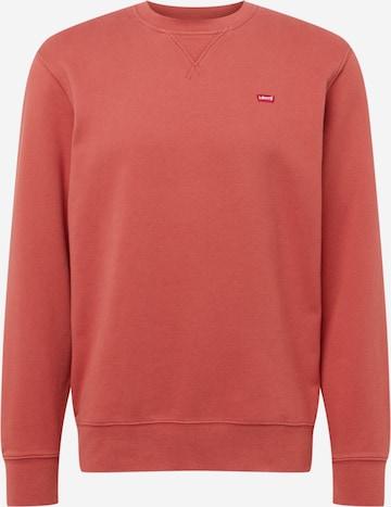 sarkans LEVI'S Sportisks džemperis