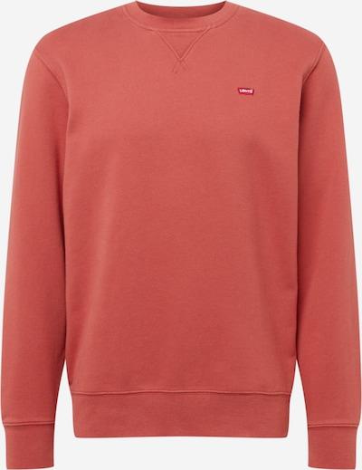 LEVI'S Sweatshirt in pastellrot, Produktansicht