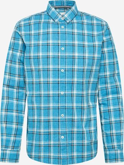 TOM TAILOR Hemd in blau / nachtblau / weiß, Produktansicht