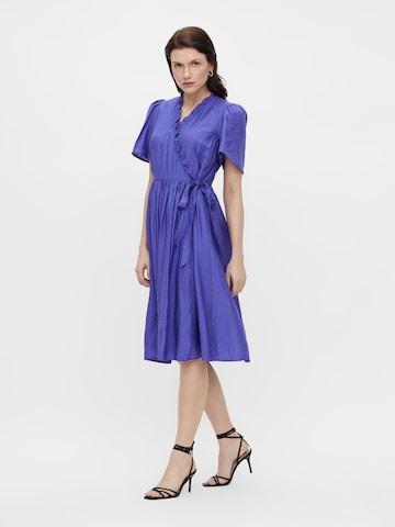 Y.A.S Shirt Dress 'IRIS' in Blue