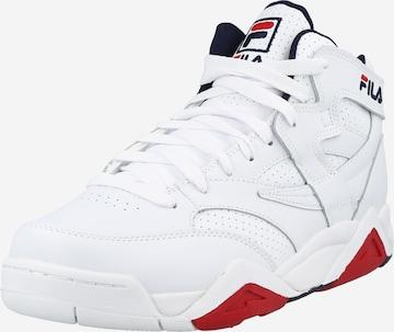 Sneaker înalt 'M-Squad' de la FILA pe alb