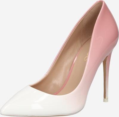 ALDO Escarpins 'STESSY' en rose / blanc naturel, Vue avec produit