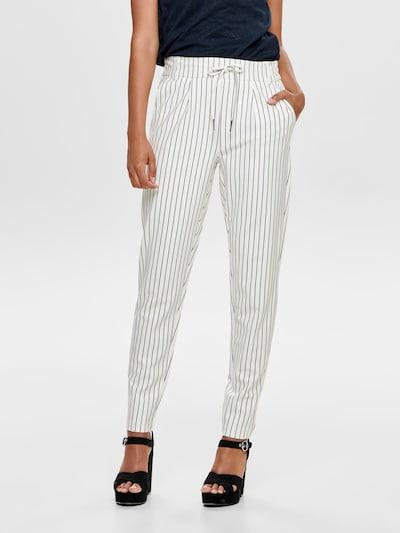 ONLY Broek in de kleur Zwart / Wit, Modelweergave