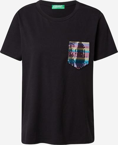 UNITED COLORS OF BENETTON T-shirt en mélange de couleurs / noir, Vue avec produit