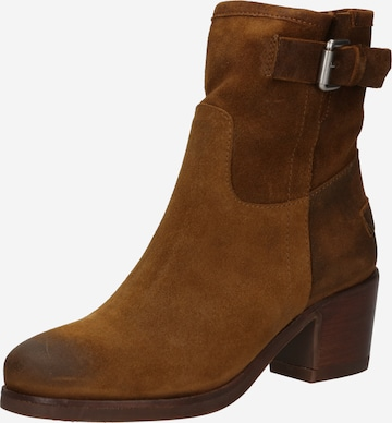 SHABBIES AMSTERDAM Ankle Boots i brun