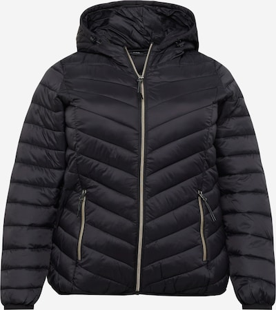 Zizzi Winter Jacket 'SALLY' in Black, Item view