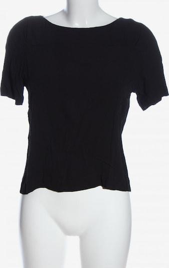 Gerard Darel Kurzarm-Bluse in L in schwarz, Produktansicht