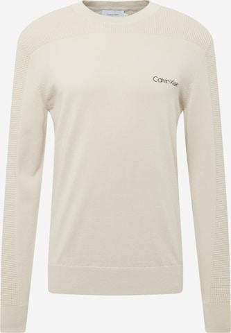 Calvin Klein Tröja i beige