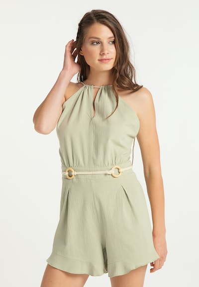 IZIA Jumpsuit in Pastel green, View model